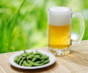 枝豆とお酒は美容にも健康にも相性抜群